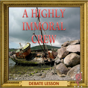 A highly immoral crew - ESL adult and kid role play activity