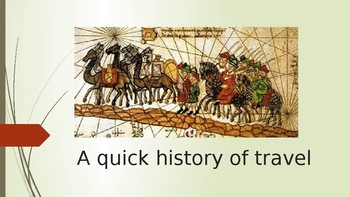 A history of Travel