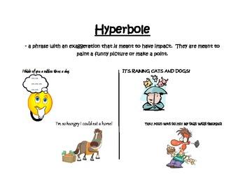 A hyperbole poster