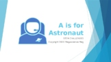 A is for ASTRONAUT!  STEM Challenges