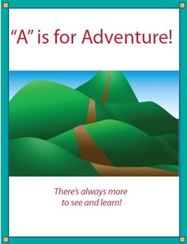 A is for Adventure-Ch1 Reading Comprehension Passage with Questions and Images