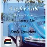 A is for Alibi Study Materials