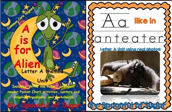 A is for Alien/A Like In Anteater Bundle (2 Complete Lette