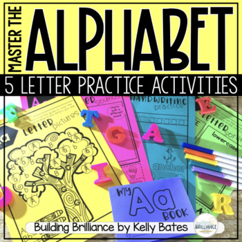 A is for Alphabet - A Letter Practice Unit