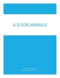 A is for Animals Mini Farm Unit