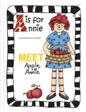 A is for Annie File Folder Activity