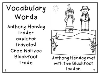 A is for Anthony Henday- A Canadian Reader