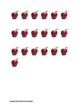 A is for Apple Addition
