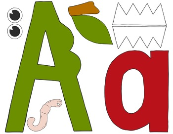 A is for Apple & Alligator