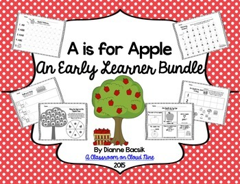A is for Apple {An Early Learner Bundle}
