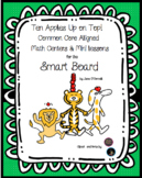 Ten Apples Up on Top Smart Board Activities and Centers