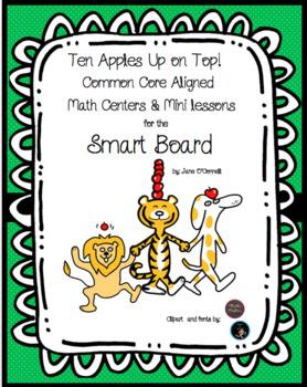 Ten Apples Up on Top Smart Board Activities and Centers