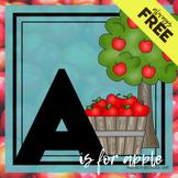 A is for Apple Themed Unit-Preschool Lesson Plans  - Dista