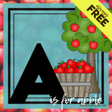 A is for Apple Themed Unit-Preschool Lesson Plans  - Dista