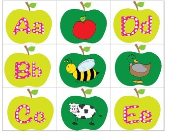 A is for Apple: Uppercase, Lowercase, Beginning Sound Lite