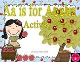 Letter of the Week - A is for Apples Kindergarten Preschool Alphabet Pack