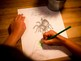 A is for Araña coloring page
