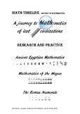 A journey to Mathematics of lost civilizations