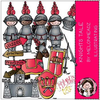 Melonheadz: A Kinghts Tale clip art - COMBO PACK