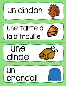 Automne - Flashcards