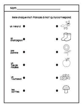 À l'école - Quiz