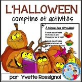 Comptine et activités pour L'Halloween | French Halloween reading and writing
