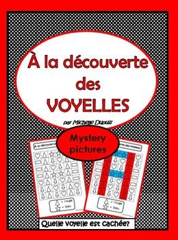 À la découverte des voyelles  -  Découvrez la voyelle cachée! (Mystery pictures)