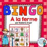 La ferme:  French Farm Themed Bingo Game