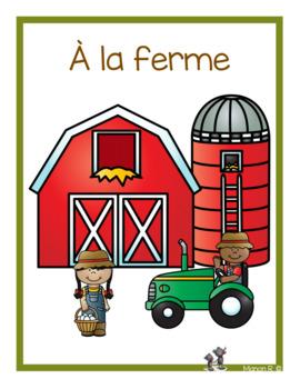 À la ferme (emergent readers)