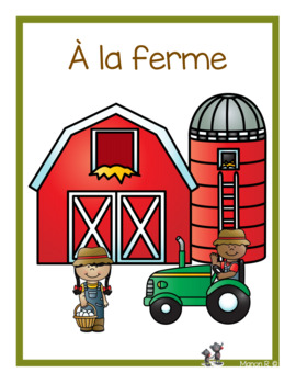 À la ferme (emergent readers)