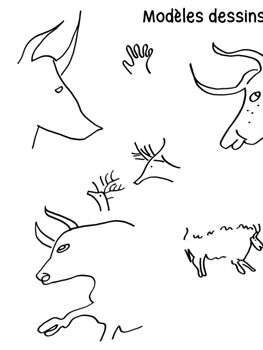 A la manière des hommes préhistoriques - PEINTURES RUPESTRES