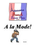 A la mode! French clothing and fashion packet