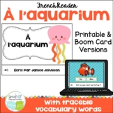 À l'aquarium Marine Animal Reader {animaux marins} & BOOM™ Task Cards with Audio