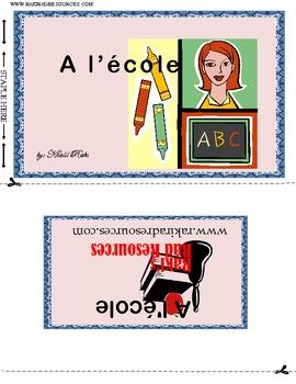 A l'ecole - un petit livre pour les enfants