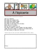 A l'epicerie (Lecture guidée, Compréhension de texte, évaluation) Français