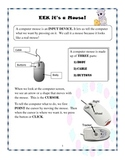 A lesson about the Computer Mouse for Grades pre-k to 2