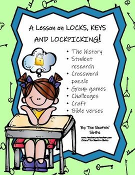 A lesson on locks, keys, and lockpicking!