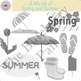 A little bit of Spring and Summer clip-art