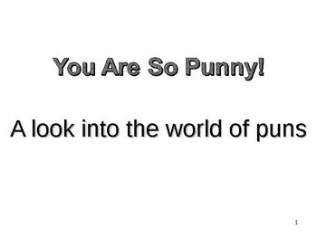 A look at puns