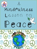 A mindfulness lesson on peace with play extensions
