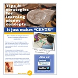 "A money manipulative that makes ""cents!"""