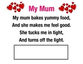 A mothers' Day Poem Literacy