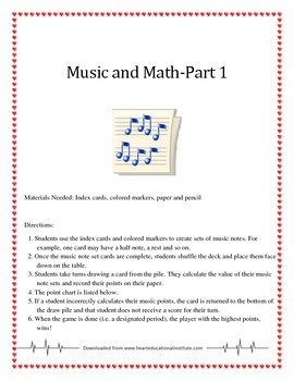Music and Math - Part 1