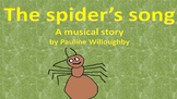 A musical minibeast story creating situations for learning