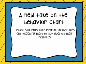 A New Behavior Chart