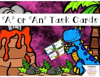 A or An Task Cards