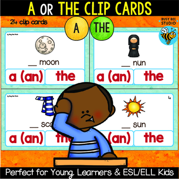 Article Task Cards: A or The?