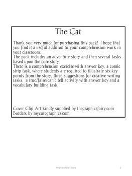 The Cat  - A pack containing a selection of language skills activities.