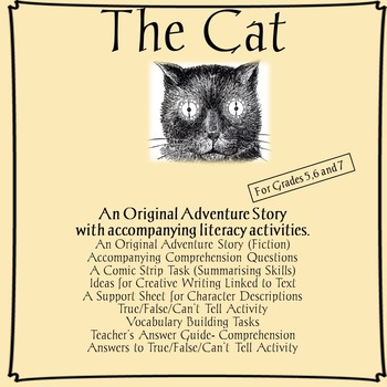 The Cat  - A pack containing a selection of language skill