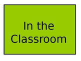 A powerpoint presentation of classroom objects